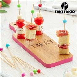 Conjunto de Bambu para Tapas Tábua TakeTokio (16 Peças)