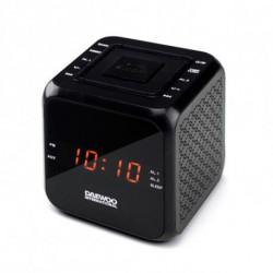 Daewoo Rádio Despertador DCR-450 Preto