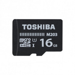 Toshiba M203 mémoire flash 16 Go MicroSDXC Classe 10 UHS-I
