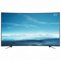 Denver Electronics Fernseher 5570T2CS 55 Ultra HD 4K Wölbung