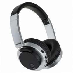 Denver Electronics BTN-206 BLACK auriculares para móvil Binaural Diadema Negro, Plata