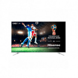 Hisense TV intelligente H75N5800 75 Ultra HD 4K WIFI HDR Argent