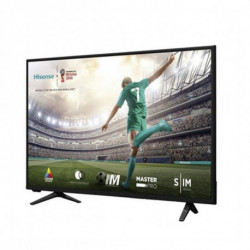 Hisense Televisão H39A5100 39 Full HD DLED SLIM Preto