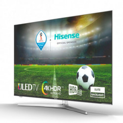 Hisense Smart TV H55U7A 55 Ultra HD 4K ULED WIFI Plateado