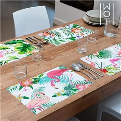 Individuais Flamingo Tropical Wagon Trend