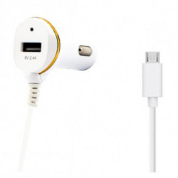Car Charger Ref. 138192 USB Micro USB White