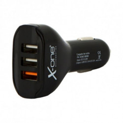 Car Charger Ref. 138260 3 x USB-A Black