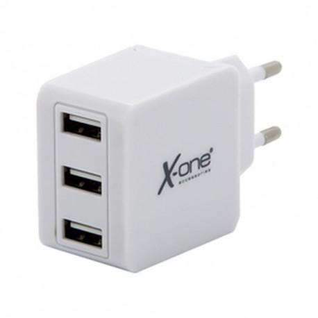 Wandladegerät Ref. 138444 3 x USB-A Weiß