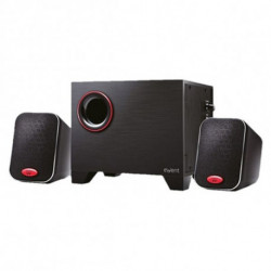 Ewent EW3505 conjunto de altavoces 2.1 canales 15 W Negro