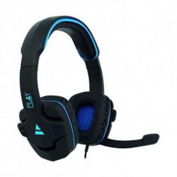 Ewent PL3320 conjunto de auscultadores e microfone Binaural Fita de cabeça Preto