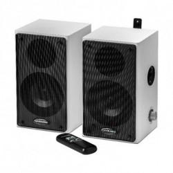 Traulux Haut-parleurs TS1050037 40W Blanc Noir