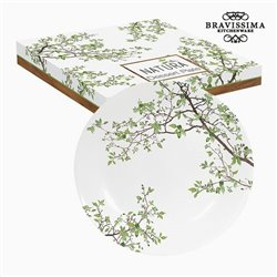 Assiette plate Porcelaine by Bravissima Kitchen