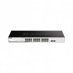 D-Link DGS-1210-26 switch Gestionado L2 Gigabit Ethernet (10/100/1000) Negro, Gris 1U