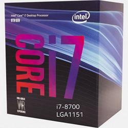 Intel Intel Core i7-8700 processore 3,2 GHz Scatola 12 MB Cacheligente