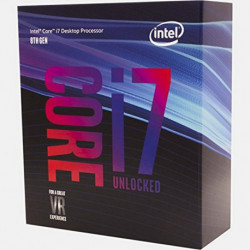 Intel Core i7-8700K Prozessor 3,7 GHz Box 12 MB Smart Cache