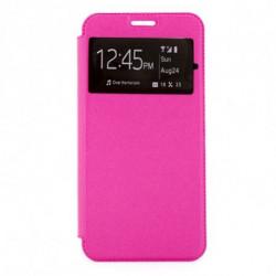 Capa Livro Samsung S9 Ref. 139601 Cor de Rosa
