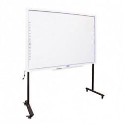 iggual Interactive Whiteboard + Stand with Wheels MPRPIZ0054 IGG314371+IGG314364 86