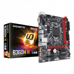 Gigabyte B360M H carte mère LGA 1151 (Emplacement H4) Micro ATX Intel B360 Express