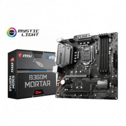 MSI B360M Mortar motherboard LGA 1151 (Socket H4) Micro ATX Intel® B360