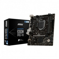 MSI B360M PRO-VD placa base LGA 1151 (Zócalo H4) Micro ATX Intel® B360