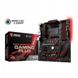 MSI X470 GAMING PLUS motherboard Socket AM4 ATX AMD X470