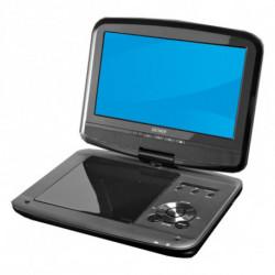 Denver Electronics MT-980T2H Lecteur DVD portable Convertible Noir 22,9 cm (9)