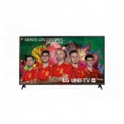LG 50UK6300PLB televisore 127 cm (50) 4K Ultra HD Smart TV Wi-Fi Nero