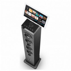 SPC Torre de Sonido 4554N Bluetooth USB FM 100W Negro