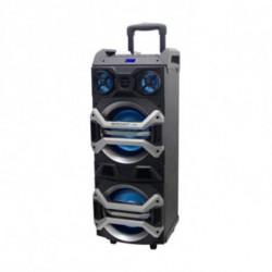 BRIGMTON Altifalante Bluetooth Portátil BAP 900 900W Preto