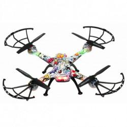 Denver Electronics DCH-460 Kameradrohne Quadrocopter Mehrfarbig 4 Rotoren 0,3 MP 650 mAh