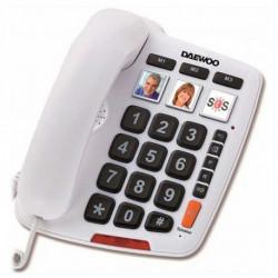 Daewoo Landline for the Elderly DTC-760 LED White