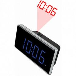Denver Electronics CRP-515 rádio Relógio Digital Preto, Cinzento