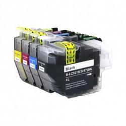Inkoem Cartucho de tinta reciclado M-LC3219BK Preto