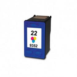 Inkoem Cartouche d'Encre Recyclée M-H-22 XL Couleur