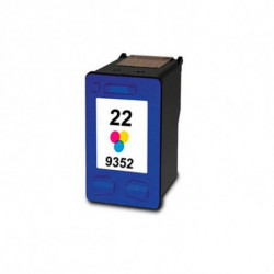 Inkoem Cartuccia d'Inchiostro Rigenerata M-H-22 XL Colore