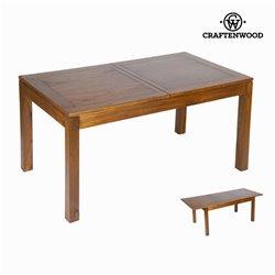 Tavolo da Pranzo Legno di mindi (140 x 90 x 78 cm) - Be Yourself Collezione by Craftenwood