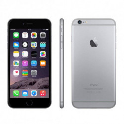 Apple Smartphone IPHONE 6 4,7 1 GB RAM 64 GB Grau (refurbished)