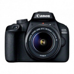 Canon EOS 4000D Kit fotocamere SLR 18 MP 5184 x 3456 Pixel Nero