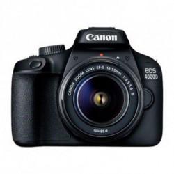 Canon EOS 4000D SLR-Kamera-Set 18 MP 5184 x 3456 Pixel Schwarz