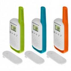 Motorola TALKABOUT T42 two-way radio 16 channels Blue,Green,Orange,White 188119