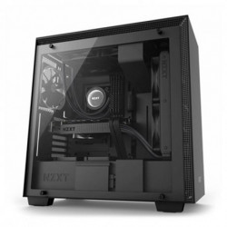 NZXT Casse Semitorre Micro ATX / ATX H700 Matte CA-H700B Nero/Rosso