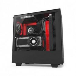 NZXT Micro ATX/ATX Midtower Case H500i Matte CA-H500W Red