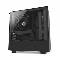 NZXT Micro ATX/ATX Midtower Case H500 Matte CA-H500B-B Black