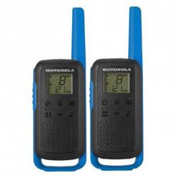 Motorola Walkie-Talkie B6P00811 (2 pcs) Azzurro
