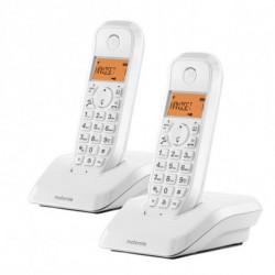 Motorola Wireless Phone S1202 (2 pcs) Black