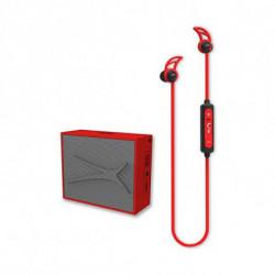 Altec Lansing Altoparlanti Bluetooth Senza Fili Urban And Sound (2 pcs) 2W 400 mAh Rosso