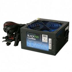 CoolBox Powerline Black 700 fonte de alimentação 700 W ATX Preto