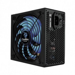CoolBox DeepPower BR-650 unité d'alimentation d'énergie 650 W ATX Noir