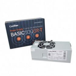 CoolBox BASIC500GR-T Netzteil 500 W TFX Grau