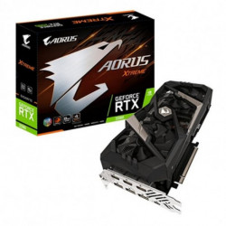 Gigabyte Gaming Graphics Card GV-N2080AORUS-8GC 8 GB DDR6 ATX